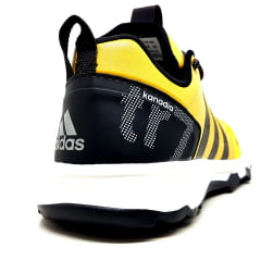 Kit 2 Tênis Adidas Kanadia TR7 Amarelo Preto + Preto Amarelo