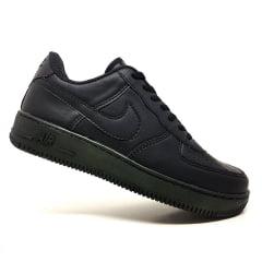 Kit 2 Tênis 1 Nike Air Force 1'07 Preto + 1 Adidas Slip On